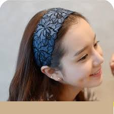 hair bands for women large embroidery flower headband wide band hair band