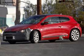 volkswagen scirocco 2015 vw scirocco facelift spy shots auto express