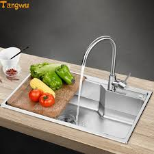Cheap Stainless Steel Sinks Kitchen by Online Get Cheap Steel Sinks Aliexpress Com Alibaba Group