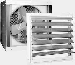 in wall exhaust fan for garage reversomatic commercial industrial wall propeller fans