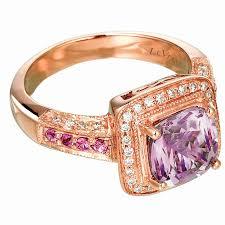 unique fashion rings images Amethyst wedding ring set lovely amethyst bridal set unique jpg