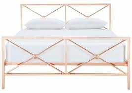 Rose Gold Bed Frame Knapp Queen Bed Copper Freedom Australia Must Haves