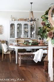 french farmhouse dining table french farmhouse christmas dining room maison de pax