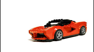 speed chions lamborghini speed chions 75899 laferrari moc youtube