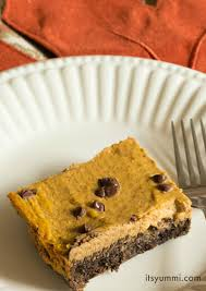 low carb pumpkin pie bars its yummi bites of food and