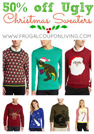 ugly christmas sweater sale men and women u0027s sweaters at 50 off