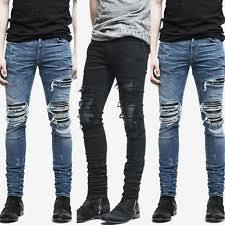 Ripped Denim Jeans For Men Denim Ripped Jeans For Men Ebay