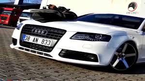 audi modified audi a4 b8 white modified car new hd youtube