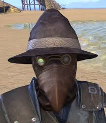 plague doctor hat eso fashion casual plague doctor