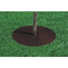 24 coco fiber tree mat protector ring