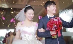 wedding china china s wedding of the year is the talk of the day on weibo