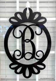 Door Monogram Decoration Best 25 Door Monogram Ideas On Pinterest Letter Door Wreaths