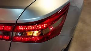 2013 2017 toyota avalon testing tail lights after changing burnt