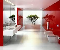 luxury spa bathroom white round wall lamp picture white modern