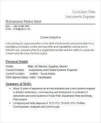 Instrumentation Project Engineer Resume 25 Best Engineering Resume Templates Free U0026 Premium Templates