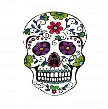 flower sugar skull edible icing image ebay