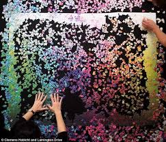 Cmyk Color Spectrum Puzzle Time Lapse Video Shows 5 000 Piece Jigsaw Being Completed Daily