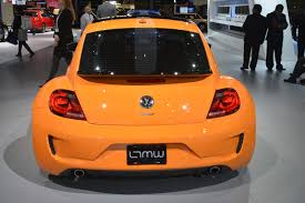 orange volkswagen beetle vw tanner foust racing eneos rwb beetle brings some color to