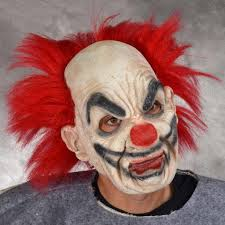 Super Scary Halloween Masks Supersoft Clown Costume Mask Mostlydead Com