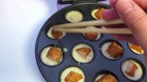 baby cakes maker takoyaki using babycakes
