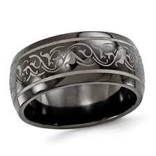black titanium titanium rings rings zales
