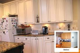 kitchen cabinet refinishing before and after reface kitchen cabinets before after cabinet refacing before and