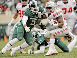 Ohio State Car Flags Michigan State Vs Ohio State Scouting The Edge At Each Position