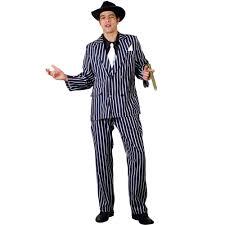 20s Halloween Costumes Godfather Gangster Italian 20s Mens Fancy Dress Mafia Costume
