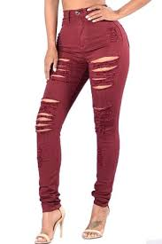 Destroyed High Waisted Jeans Women U0027s High Waisted Jeans U2013 Jeans Com