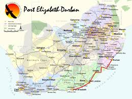 j bay south africa map port elizabeth to durban via wildcoast self drive tour packages