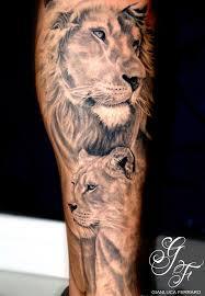 lion tattoo couple danielhuscroft com