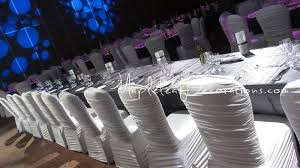wedding chair covers rental or rouched style chair covers rentals in toronto wedding