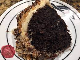 chocolate caramel coconut cake annie u0027s chamorro kitchen