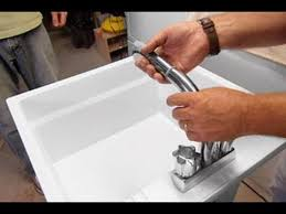 how to install a laundry sink how to install a utility sink this old house youtube