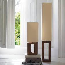 Buy Table Lamp Buy John Lewis Echo Wood Floor Lamp John Lewis