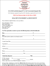 sponsorship agreement template ne0285 event sponsorship agreement