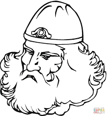 viking coloring pages eson me