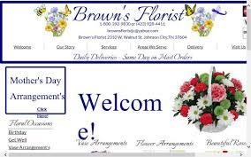 brown s day brown s florist w walnut st johnson city tn 37604 map