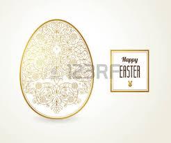 floral ornamental egg for design bright element for happy
