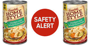 campbell recalls chicken soup usda announces recall