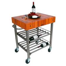 kitchen carts cucina d u0027amico wine cart cherry top w towel bar