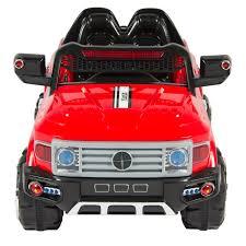 12v mp3 kids ride on truck car r c remote control led lights aux