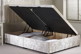 Grey Fabric Ottoman Bed Buy Ottoman Beds From Bedworld Free Delivery