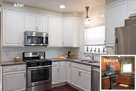 Kitchen Design San Antonio White Cabinets Refinished By Paper Moon Painting See How We