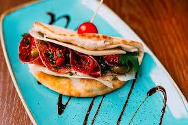 Mezzaluna sandwich Picture of Lounge Bar & Grill Durham TripAdvisor