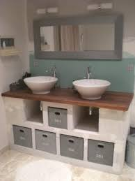 meuble de salle de bain original pour gagner de la place vous deci de fabriquer un meuble de lavabo