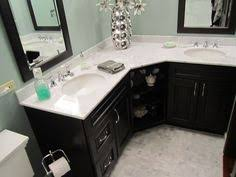 L Shaped Bathroom Vanity This Is More About The Concept Than The - Bathroom vaniy 2