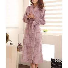 robe de chambre femme polaire robe de chambre femme polaire violet clair lepeignoir fr