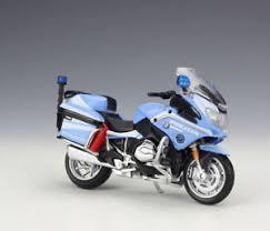 bmw motocross bike 1 18 maisto bmw r1200rt italy police motorcycle bike model new in