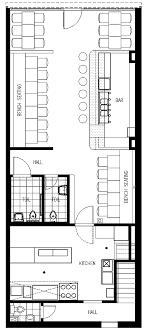 layout denah cafe cafe floor plan pinteres